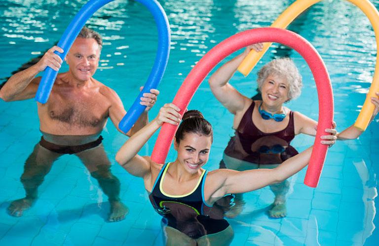Wassergymnastik HVD Reina del Mar